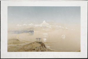 Heaphy, Charles 1820-1881 :Mt Cook, Greenstone country, Middle Id. [1846]