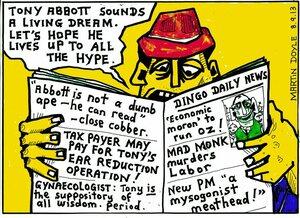 Doyle, Martin, 1956- :Mad Monk Murders Labor. 9 September 2013