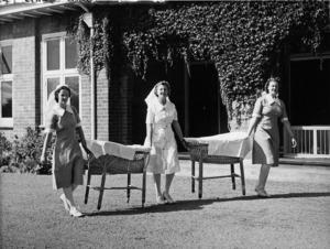 Karitane nurses, Christchurch - Photograph taken by George Weigel
