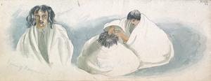 [Ashworth, Edward] 1814-1896 :Woman of Waingaroa. [1843]