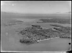 Devonport, North Shore City, Auckland, including Waitemata Harbour and North Head (Maungauika)