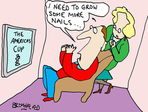 """Bromhead, Peter, 1933-:""""I need to grow some more nails."""". 20 September 2013"""