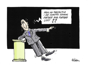 """Hubbard, James, 1949- :""""From my perspective I see Cunliffe leaning further and further left!!"""" 21 September 2013"""
