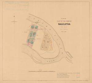 Plan of part of the town of Balclutha [electronic resource] / Robt. Grigor, assist. surveyor ; J. Douglas delt.