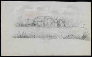 Urquhart, G, fl 1860 :Te Karaka Ghur. Auckland. G Urquhart. 1860