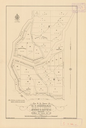 Plan of the township of Bastings [electronic resource] W.D.B. Murray, asst. surveyor, Novr. 1878. ; W.J. Percival, lith.