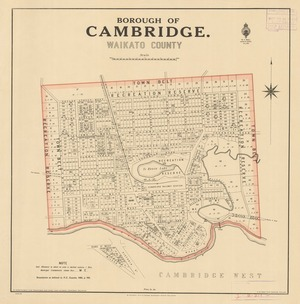 Borough of Cambridge, Waikato County [electronic resource].