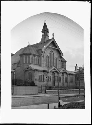 Exterior of the Vivian Street Baptist Church, Wellington