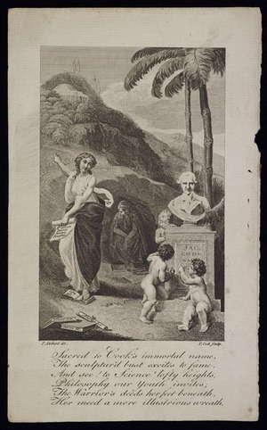 Stothard, Thomas, 1755-1834 :[Philosophy inviting Youth to the heights of Science]. T. Stothard del. T Cook sculp. [ca 1789]