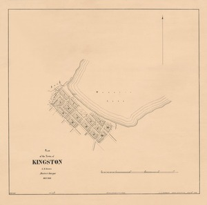 Plan of the town of Kingston [electronic resource] C.B. Shanks, district surveyor, May 1863.