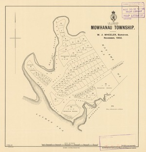 Mowhanau township [electronic resource] / W.J. Wheeler, surveyor, November 1902 ; F.J. Halse, delt.