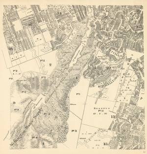 [Wellington city cadastral map] [electronic resource].