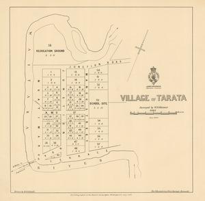 Village of Tarata [electronic resource] / surveyed by W.H. Skinner.