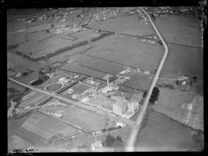 View of the Waitemata Brewery factory and surrounding land, Otahuhu, Auckland