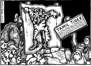 Doyle, Martin, 1956- :A Tamil Tiger for Wellington Zoo?. 21 November 2013