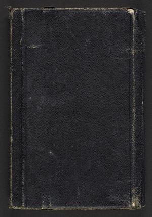 World War One diary (I)