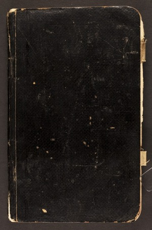 Pryor, David Clarence, b 1894 : World War One diary
