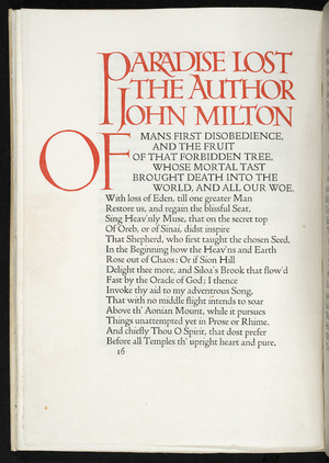 Paradise lost : a poem in XII books / the author John Milton.