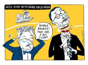 Murdoch, Sharon Gay, 1960- :Into 2014 with head held high. 28 December 2013