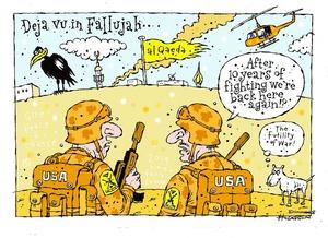 Hodgson, Trace, 1958- :Deja vu in Fallujah... 6 January 2014