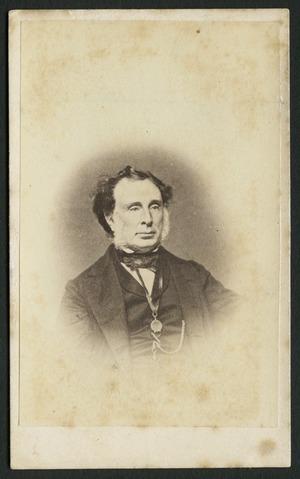 Photographer unknown :Portrait of Joseph Brittan