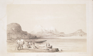 [Merrett, Joseph Jenner], 1816?-1854 :Rua Pahu and Tongariro / L Haghe lith.; Day & Haghe, lithr to the Queen. London, J Murray, Albemarle St. [1843]