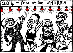 Doyle, Martin, 1956- :Year of the whores. 1 February 2014