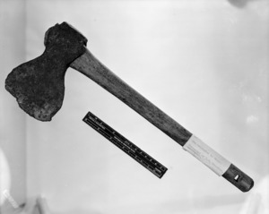 Maker unknown :[Axe or tomahawk said to have belonged to Hongi Hika. 1840s?].
