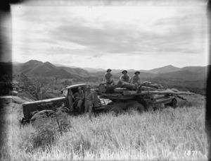 New Zealand soldiers in New Caledonia, World War II