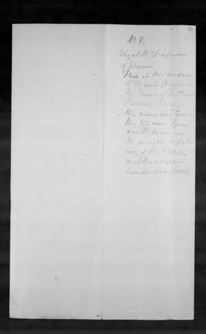 Copies of wills and other family documents