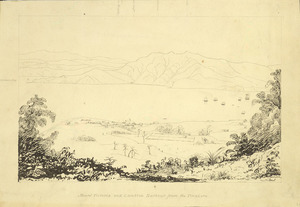 Smith, William Mein 1799-1869 :Mount Victoria and Lambton Harbour from the Tinakore [1841 or early 1842]