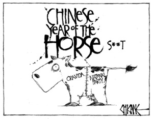 Winter, Mark, 1958- :Chinese Year of the Horse. 22 March 2014