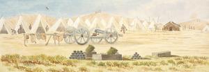 Hamley, Joseph Osbertus, 1820-1911 :Camp at Patea [1865]
