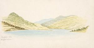 Hamley, Joseph Osbertus, 1820-1911 :Taupiri from the Coal mines [1864]