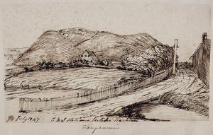 Taylor, Richard, 1805-1873 :C. M. S. Station Putiki Waranui, Wanganui. 7 July 1847.