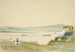 Hamley, Joseph Osbertus, 1820-1911 :Onehunga, near Auckland. [1864]