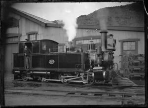Fa Class locomotive, NZR 226, 0-6-0T type.