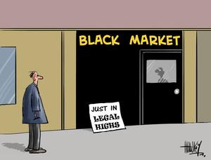 Hawkey, Allan Charles, 1941- :Black market. 8 May 2014