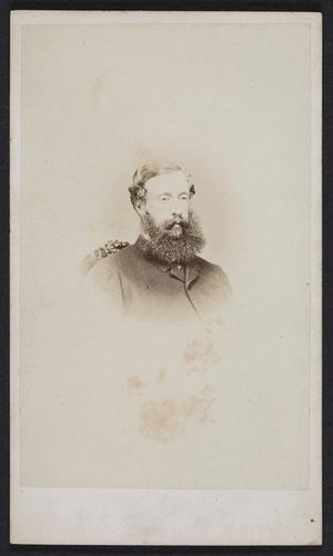 Webster, Hartley (Auckland) fl 1852-1900 :Portrait of Captain Gower, 65th Regiment