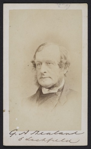 Whitlock, Fred (Birmingham, England) fl 1850s :Portrait of Bishop Selwyn 1809-1878
