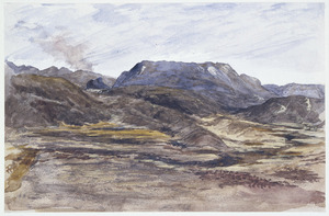 Hunter, Norman Mitchell, b 1859 :[Scene in the thermal region. Central volcanic plateau. 1882]