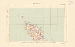 Aeronautical chart ICAO 1:500000. Kaitaia SE 36/172.