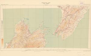 Aeronautical chart ICAO 1:500000. Cook Strait SE 42/171¹/₂.