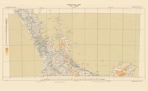Aeronautical chart ICAO 1:500000. Auckland SE 38/173¹/₂.