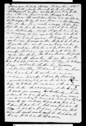 Letter from Te Teira to Kawana & McLean (with translation)