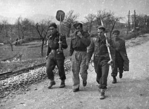 New Zealand Engineers, Monte Cassino, Italy