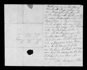 Letter from Haimona Pita to Te Puni