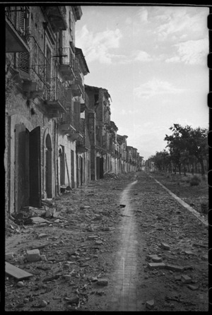 Orsogna, Italy, during World War 2