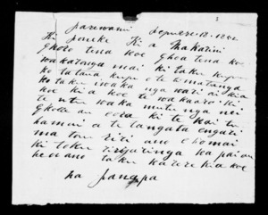 Letter from Panapa to McLean