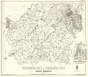 Waitahuna East & Waitahuna West survey districts [electronic resource] / drawn by S.A. Park, May 1923.